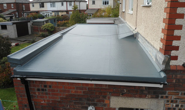 recent project for flat roofing in rochdale