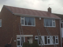 recent project by our roofer in rochdale