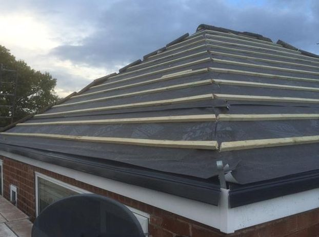 roofing services by our local roofer in Bury