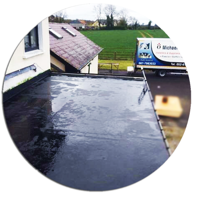 rubber roofing icon